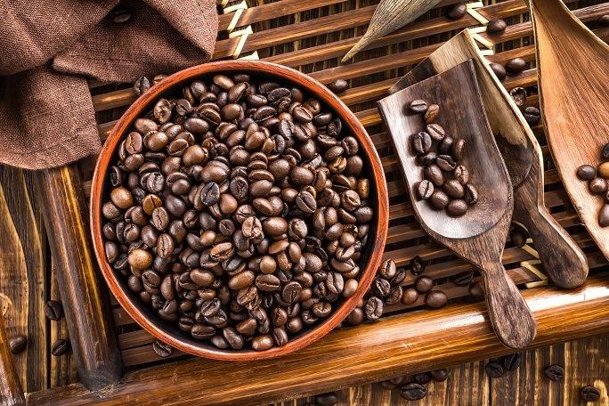 Caffeine - Coffee beans